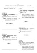 Australian Official Journal of Trade Marks PDF