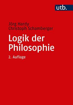 Logik der Philosophie PDF