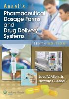 Ansel s Pharmaceutical Dosage Forms and Drug Delivery Systems PDF