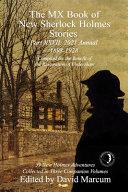 The MX Book of New Sherlock Holmes Stories Part XXVII