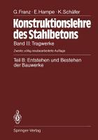 Teil B  Entstehen und Bestehen der Bauwerke PDF