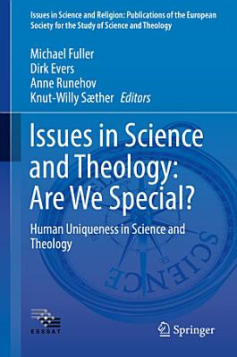 Issues in Science and Theology  Are We Special  PDF