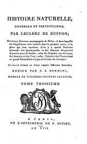 Histoire naturelle, générale et particulière: Volume3