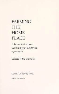 Farming the Home Place