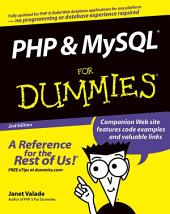 PHP and MySQL For Dummies: Edition 2