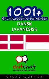 1001+ grundlæggende sætninger dansk - javanesisk