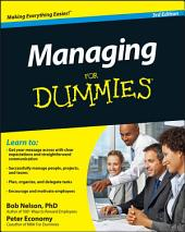Managing For Dummies: Edition 3