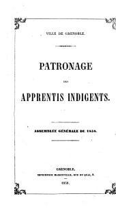 Assemblée générale de ...: Assemblée générale de .../1858. 1858