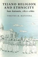 Tejano Religion and Ethnicity PDF