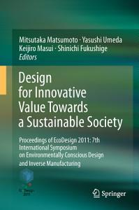 Design for Innovative Value Towards a Sustainable Society PDF