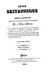 Revue Britannique ou choix d'articles traduits des meilleurs écrits périodiques da la Grande-Bretagne [etc.].: Volume44
