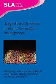 Usage Based Dynamics in Second Language Development PDF