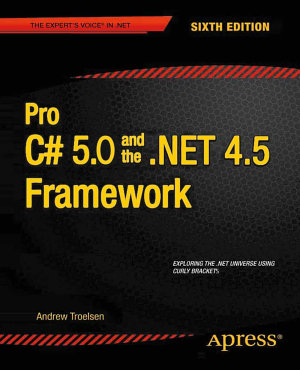 Pro C  5 0 and the  NET 4 5 Framework PDF