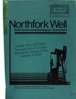 North Fork Well PDF