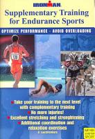 Supplimentary Training for Endurance Sports PDF