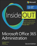 Microsoft Office 365 Administration Inside Out PDF