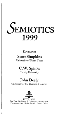 Semiotics PDF