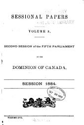 Sessional Papers: Volume 17, Issue 9