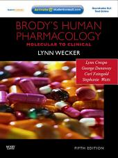 Brody's Human Pharmacology: Edition 5