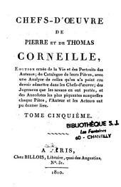 Chefs-d'oeuvre de Pierre et Thomas Corneille
