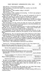 First Deficiency Appropriation Bill for 1944 PDF