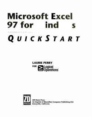 Microsoft Excel 97 for Windows PDF