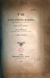 Vie de S. Etienne Harding: Compte-rendu