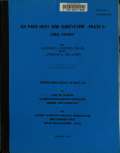 Ice Pack Heat Sink Subsystem  Phase 2 PDF