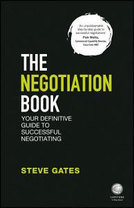 The Negotiation Book Book