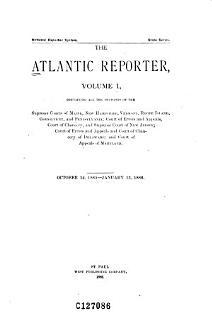 The Atlantic Reporter Book