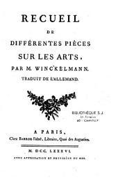 Recueil de différentes pièces sur les arts