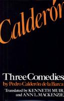 Three Comedies by Pedro Calder  n de la Barca PDF