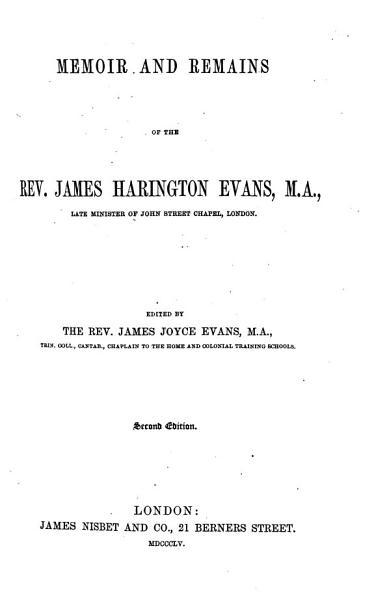 Download Memoir and Remains Book