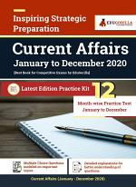 Current Affairs (January 2020 to December 2020) | Monthly Practice Tests