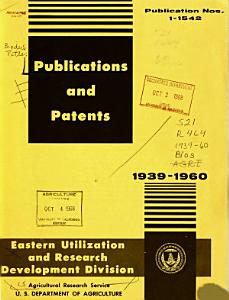 Publications and Patents PDF