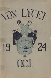 Vox Lycei 1923-1924