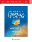 Synopsis of Psychiatry 12e  int Ed