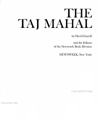 The Taj Mahal PDF