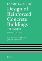 Examples of the Design of Reinforced Concrete Buildings to BS8110 PDF