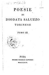 Poesie di Diodata Saluzzo Torinese. Tomo 1 [-4]: Volume 3