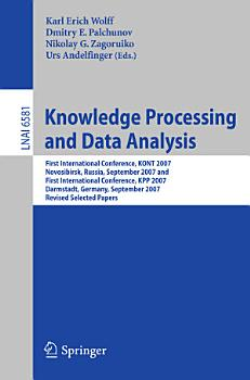 Knowledge Processing and Data Analysis PDF