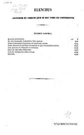 Patrologiae cursus completus: seu bibliotheca universalis, integra, uniformis, commoda, oeconomica, omnium SS. Patrum, doctorum scriptorumque ecclesiasticorum, sive latinorum, sive graecorum, qui ab aevo apostolico ad tempora Innocentii III (anno 1216) pro latinis et ad concilii Florentini tempora (ann. 1439) pro graecis floruerunt. Series graeca, in quo prodeunt patres, doctores scriptoresque ecclesiae graecae a S. Barnaba ad Bessarionem, Τόμος 20