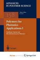 Polymers for Photonics Applications I