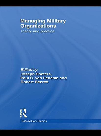 Managing Military Organizations PDF