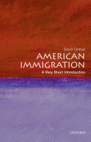 American Immigration  A Very Short Introduction PDF