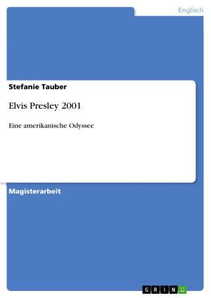 Elvis Presley 2001 PDF