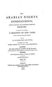 The Arabian Nights Entertainments: Volume 3