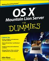 OS X Mountain Lion Server For Dummies PDF