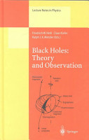 Black Holes  Theory and Observation PDF