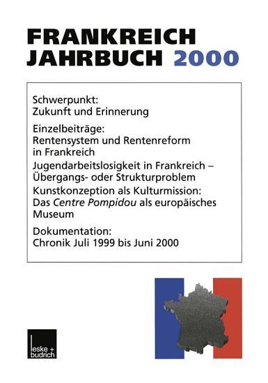Frankreich Jahrbuch 2000 PDF